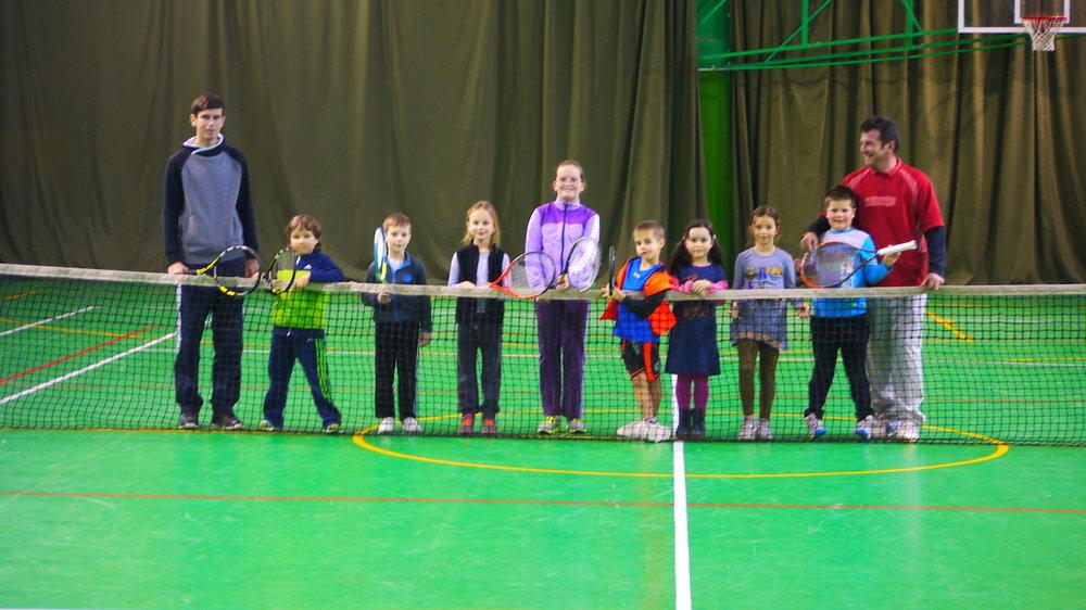 antrenamente tenis