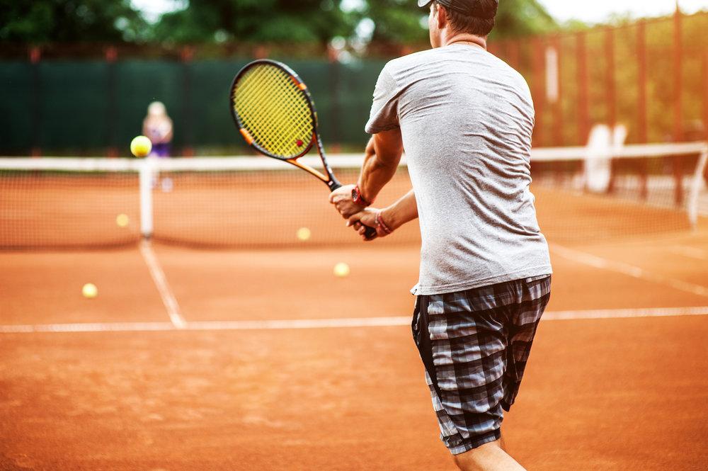 teren tenis zgura cluj
