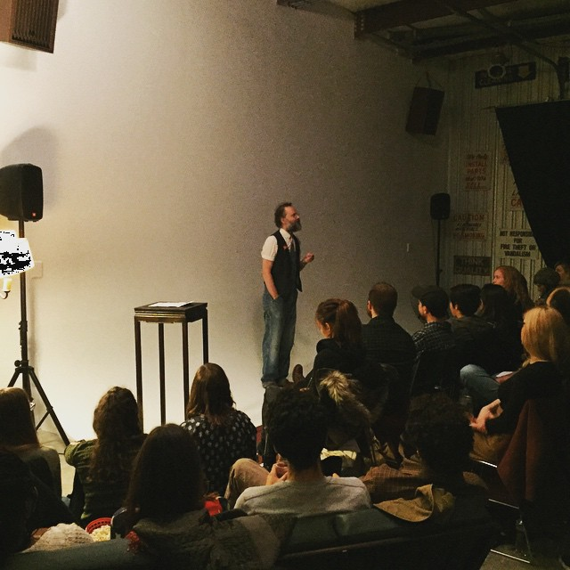 Packed house last night for our UNEXPOSED show featuring David Gatten!