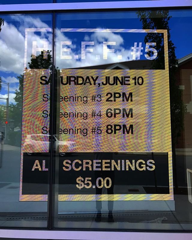 Up in Massachusetts to run our fifth annual Haverhill Experimental Film Festival at an amazing new building called Harbor Place and hosted by HC Media. June 9+10! Thanks Creative Haverhill once again for financial support :)
