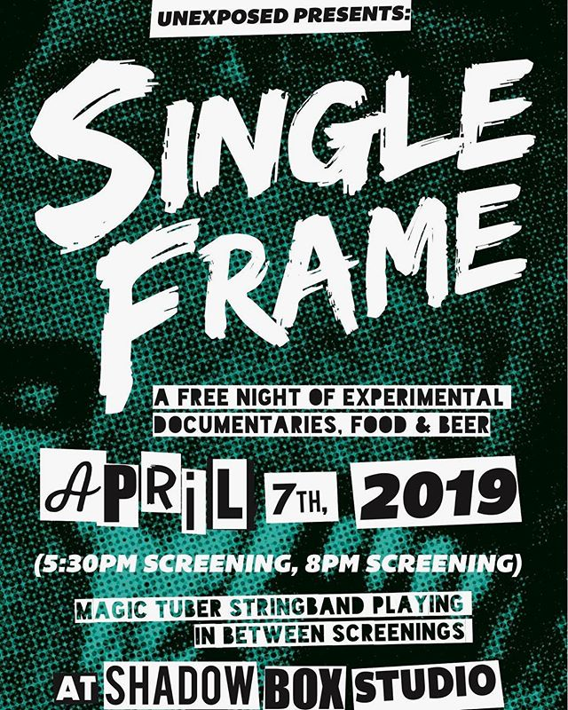 Single Frame is back for a second year!