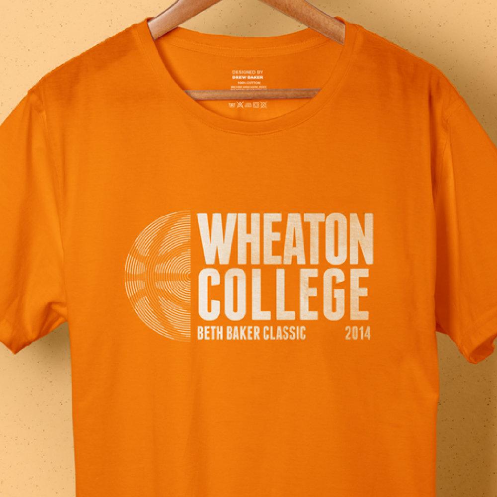 WHEATON COLLEGE BASKETBALL |  Various Apparel Designs