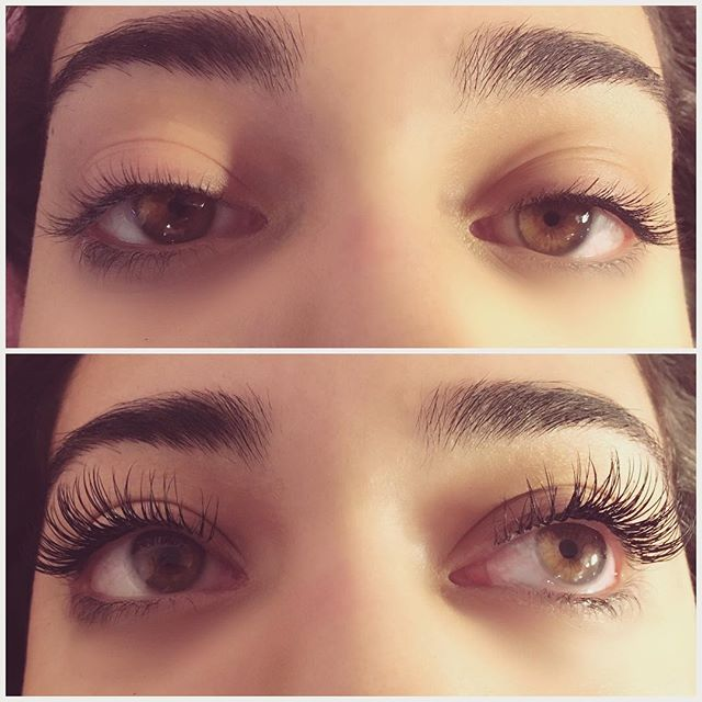 There's nothing like a full set of lashes on a beautiful woman 😍 The lash envy is real!  #eyelashextensions #lashextensions #lashenvy #lashartist #beautybar #ithacany