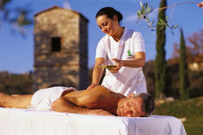 Luxury Tuscan massage