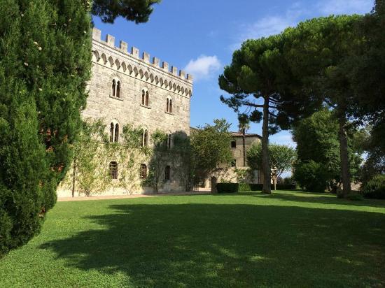 Medieval hamlet near Volterra