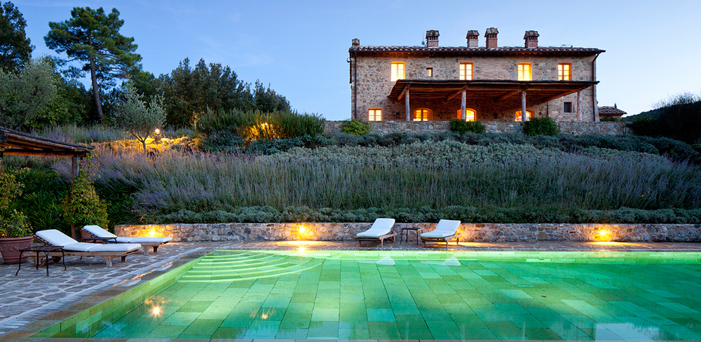 Glamorous villa in Tuscany to enjoy a quiete retreat