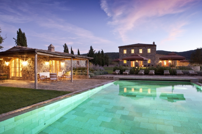 How beautiful Tuscan villa with heated pool