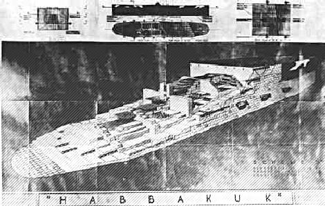 Proposed design of the Habakkuk