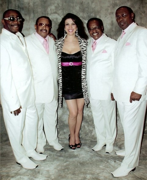 Sharing the stage with The Legendary Drifters - Milwaukee, WI