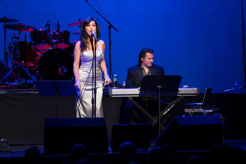 Opening for Michael Bolton