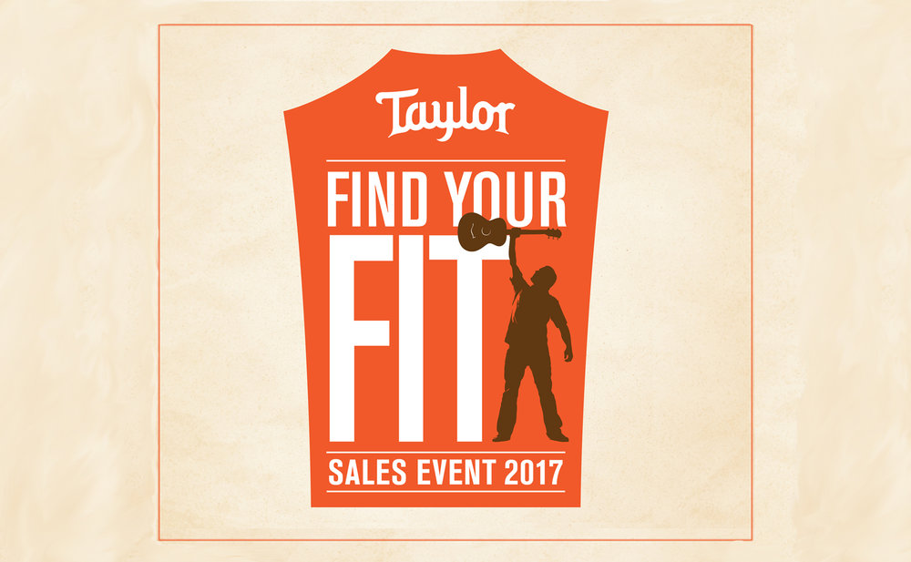 TAYLOR FIND YOUR FIT SALES EVENT!   Free Concert Ticket Giveaway!