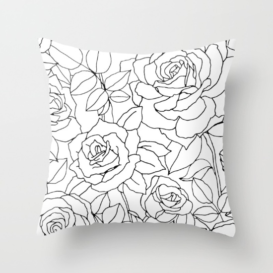 floral-illustration-no-2--rose-flower-in-black-and-white-pillows.jpg