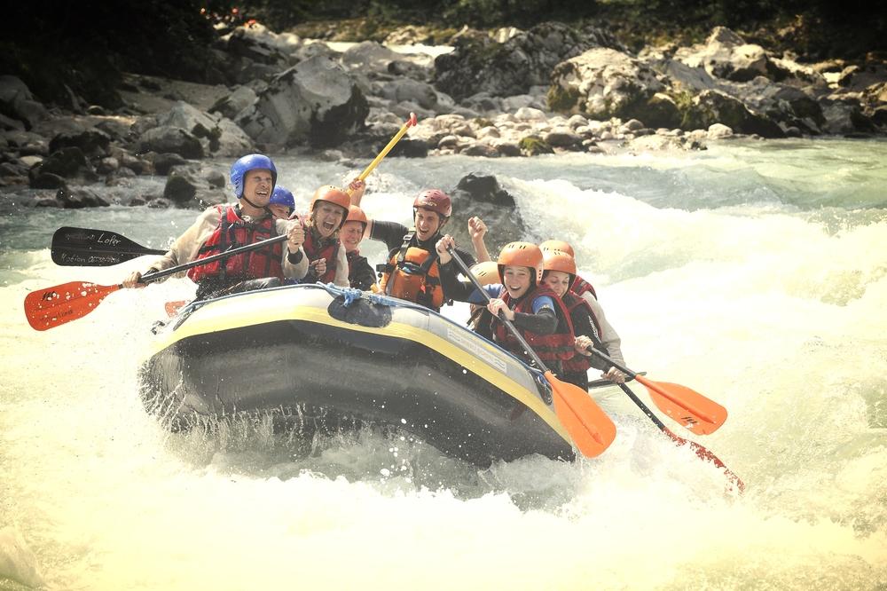 Canyoning & Rafting