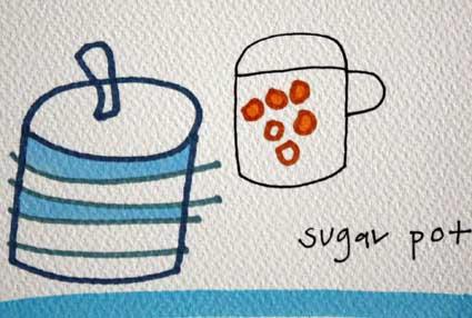 Sugar Pot I