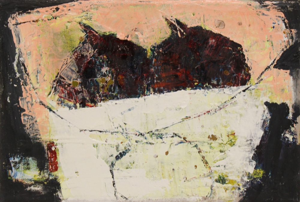 Marilyn Browning  Fig Bowl   21 x 15 cm oil on canvas  S O L D