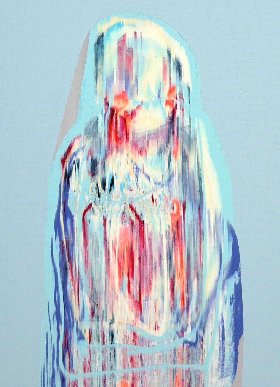 Lee Knott Ultra-momo 80 x 60 cm acrylic on canvas £950   Enquire