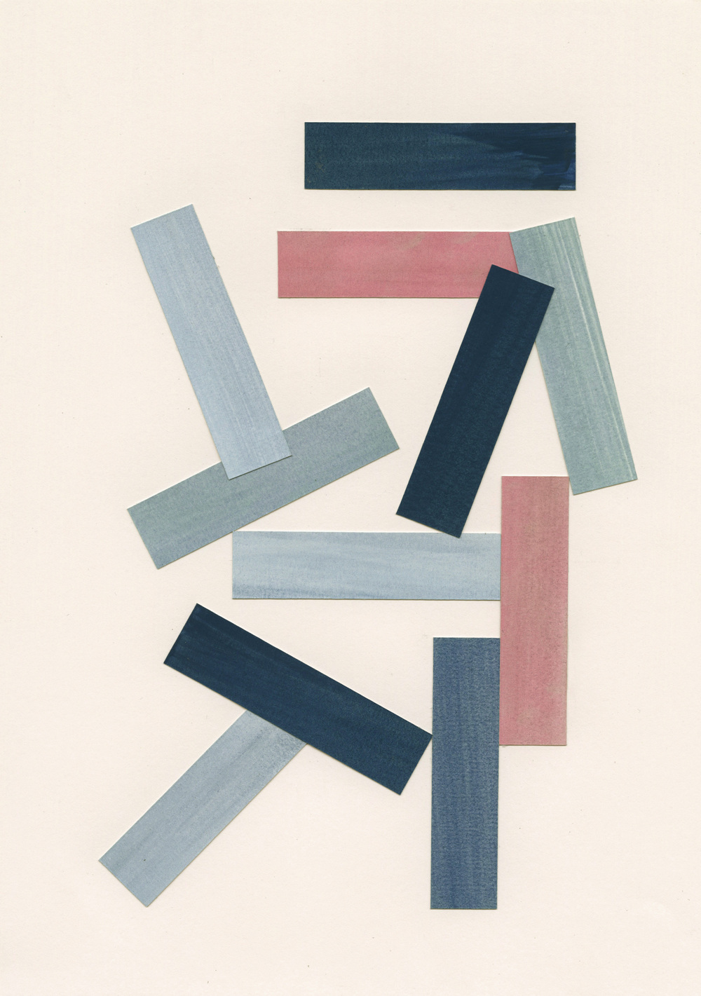 Liam Stevens   Rectilinear Form  No.1 (Written Form)  Gouache on paper, 21 x 29.7cm, 2014 Framed: 28.5 x 37cm £490   Enquire