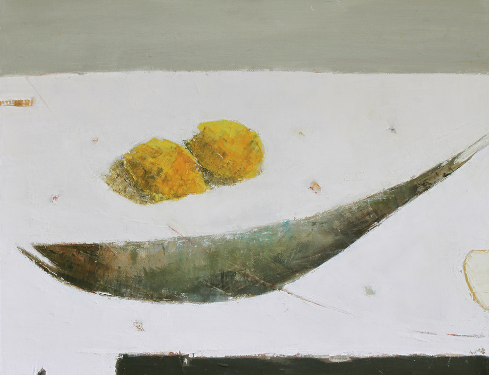 Marilyn Browning   The Fish Table 40.5 x 51 cm oil on canvas £ 1000   Enquire