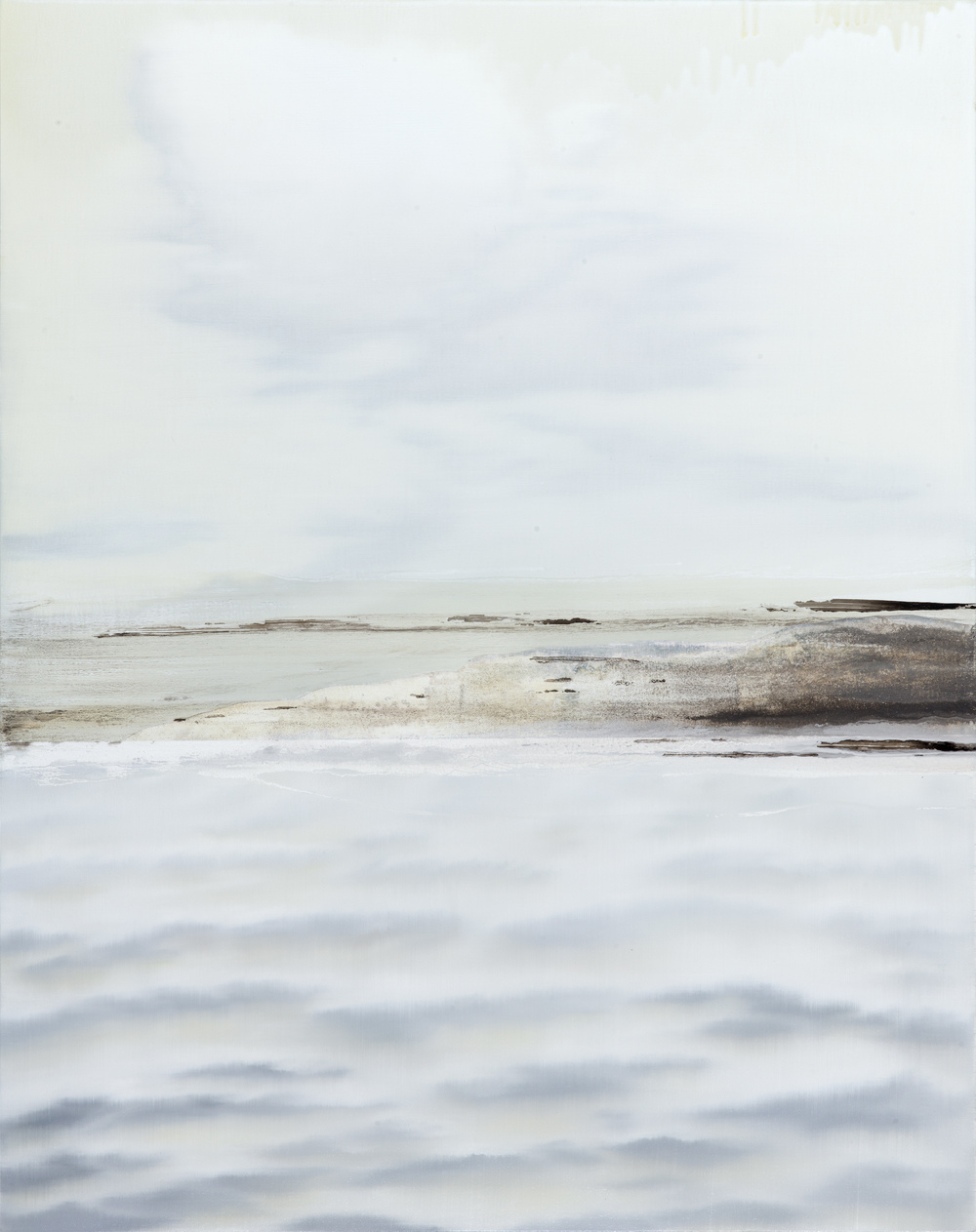 Kerry Harding   Atlantic Calm   100 x 80 cm oil on canvas Sold   Enquire
