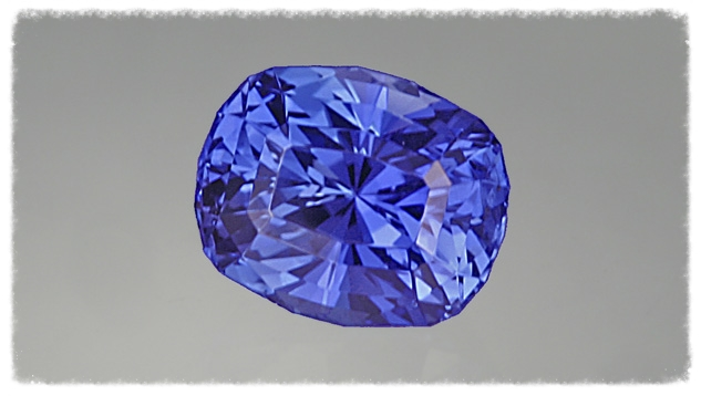 When a skilled craftsman cuts a fine-color sapphire, the stone's maximum beauty potential is realized. This 3.03-ct. radiant cushion cut is a prime example. Image from the Gemological Institute of America.