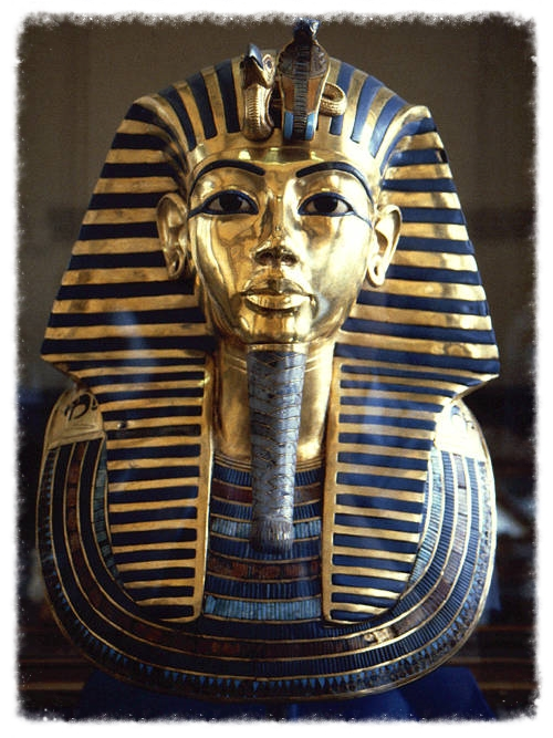 The mask of King Tut.