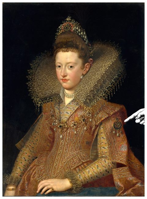 "The first recorded heart shape diamond appears in a portrait entitled ""The Gonzaga Princess,"" painted circa 1605 by Frans Pourbus the younger. The large piece of jewelry on the princess's left sleeve contains a variety of different cuts, some of which are thought to be versions of the heart-like 'drops' popular in France at the time."
