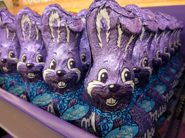Attack of the Chocolate Bunnies!