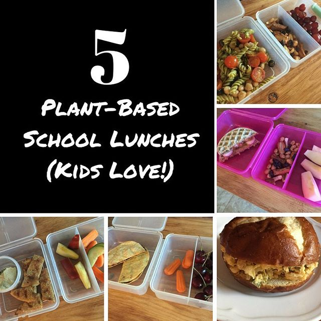 The weekend is almost here but Monday will be here before you know it. I've taking care of planning a weeks worth of healthy school lunches your kids will love (and you will love to make). #healthy #kids #school #lunch #ideas #vegan #vegetarian #plantbased #nutrition #fitmom