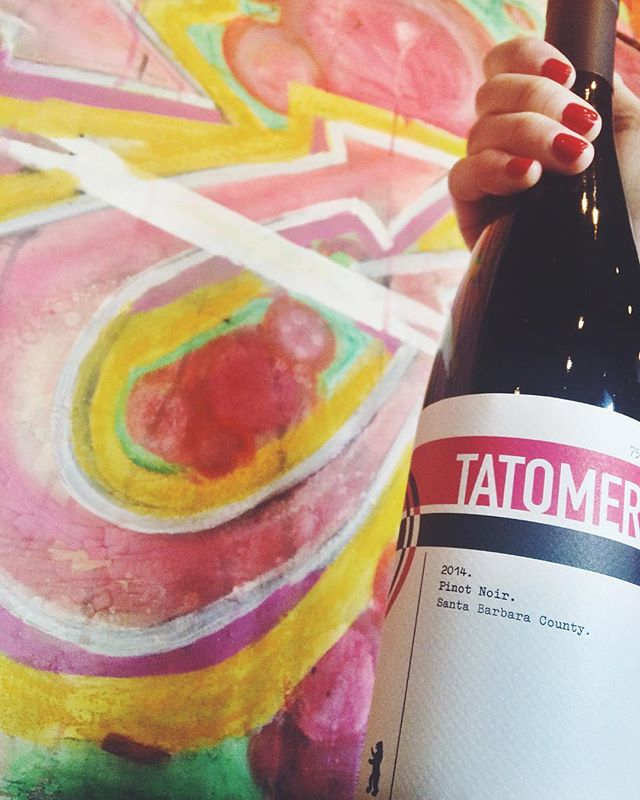 Tatomer does Pinot Noir. Bomb!