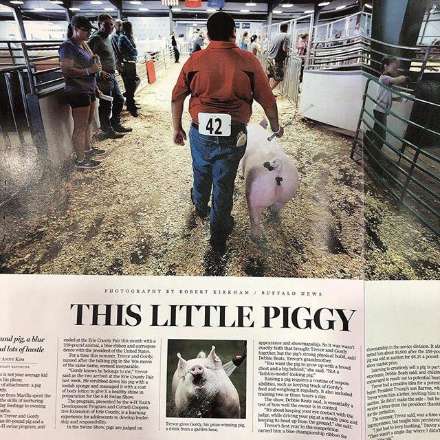 "How can you not love ""This Little Piggy""? #SND40"