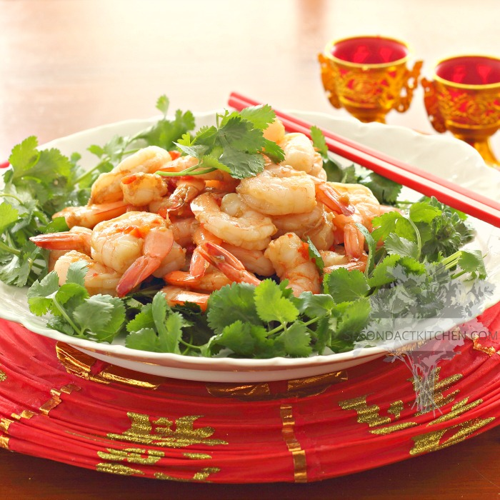 Easy New Year's Shrimp