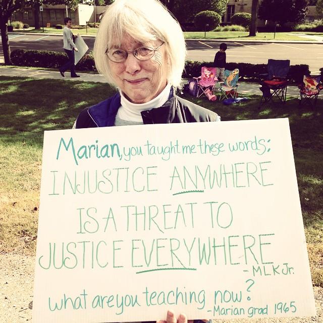 #istandwithbarbwebb #marianbethechange #classof65