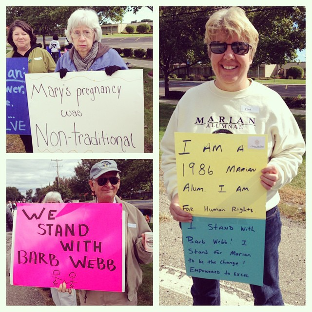 #picstitch #istandwithbarbwebb #marianbethechange