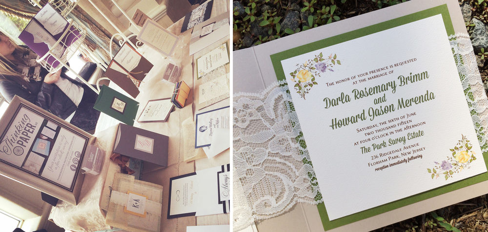 Boho Chic Invitation Design to the right. Customization is available.
