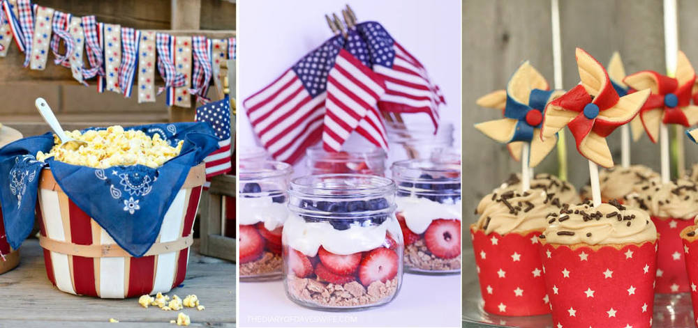 Get the recipe for this Patriotic Parfait  here