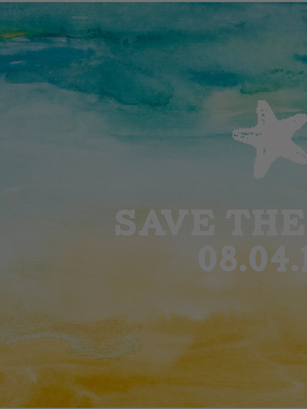 SHOP SAVE THE DATES  -