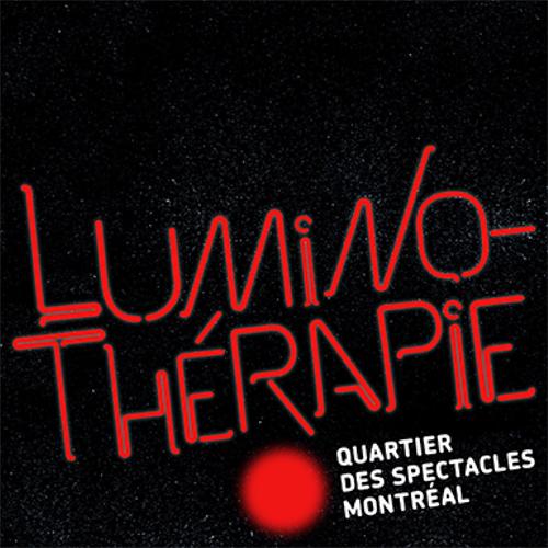 LUMINOTHÉRAPIE 2013 -Lauréat: Entre les rangs