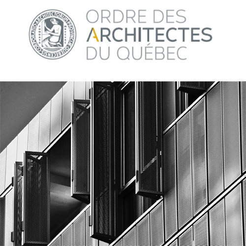 ORDRE DES ARCHITECTS DU QUÉBEC 2012- Finaliste:Irène