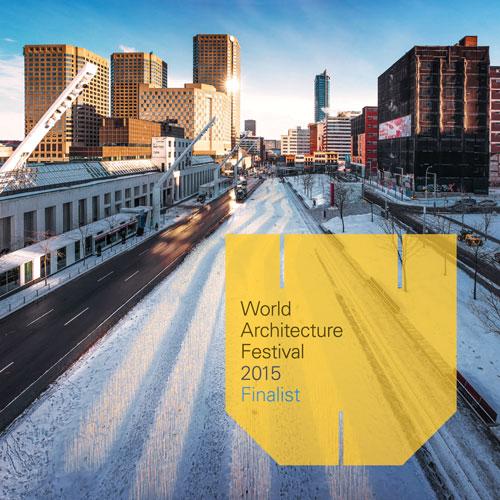 WORLD ARCHITECTURE FESTIVAL 2015 - Finaliste: Entre les rangs