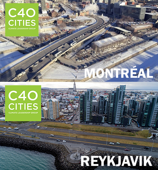 C40 REINVENTING CITIES 2018 - Double Finaliste