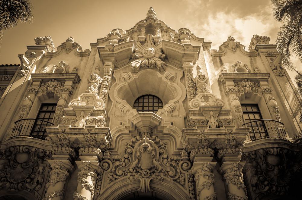 Arichitecture in Balboa Park