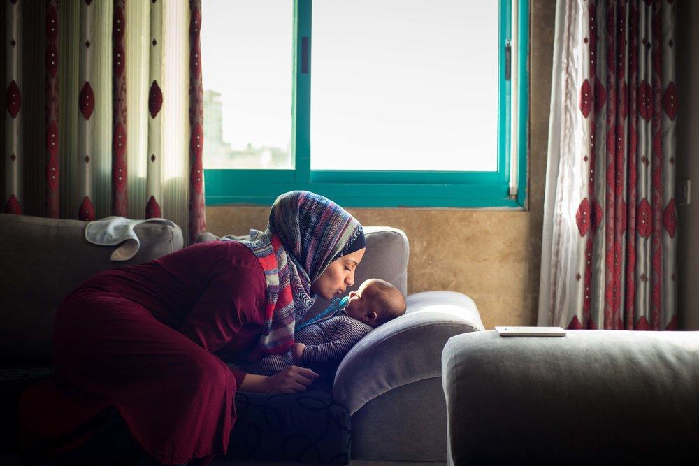 Basemah and Farhat. Hebron