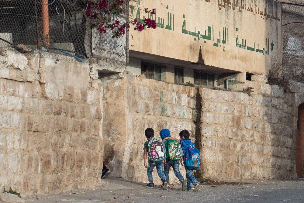 Ibrahimi School, Hebron, West Bank, Palestine