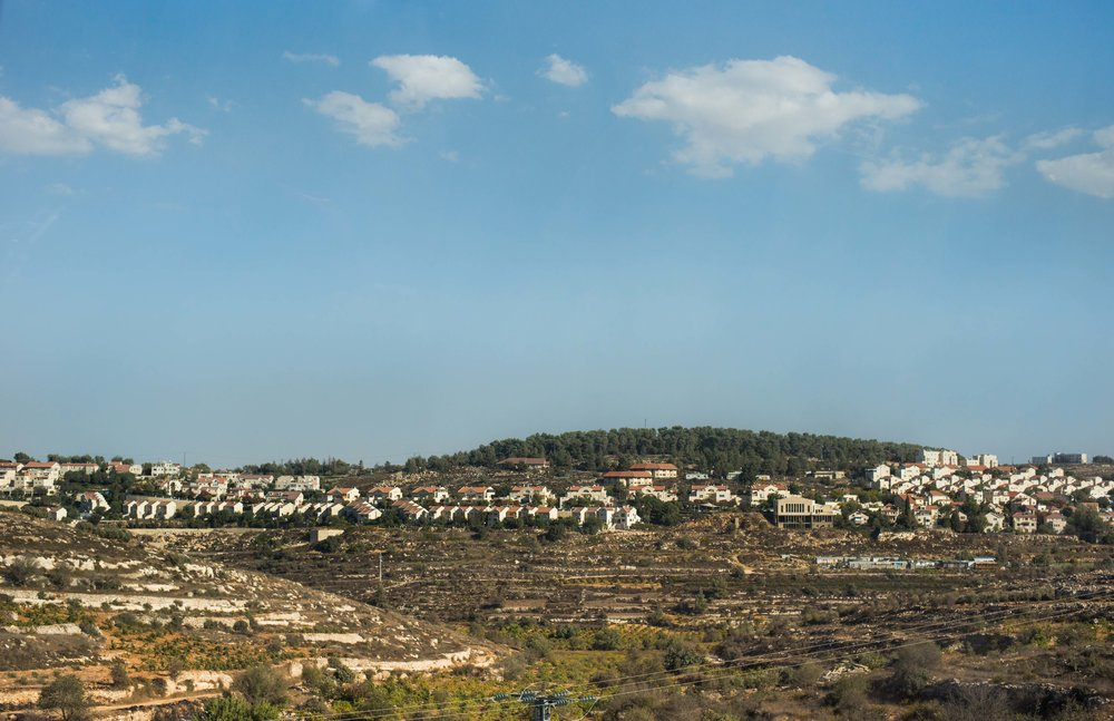 Efrat illegal settlement, West Bank, Palestine.