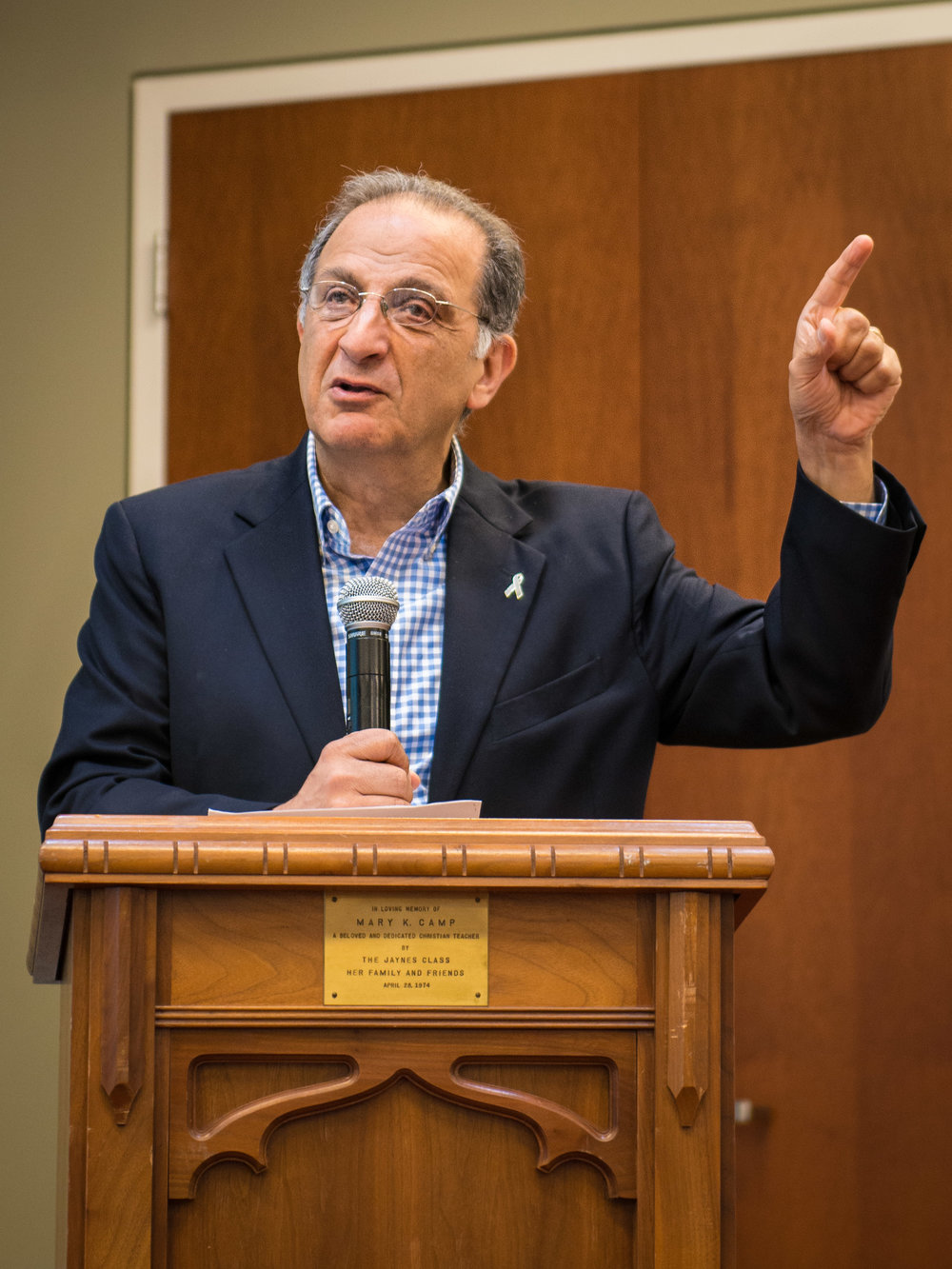 Dr. Jim Zogby, President and co-founder of the Arab American Institute