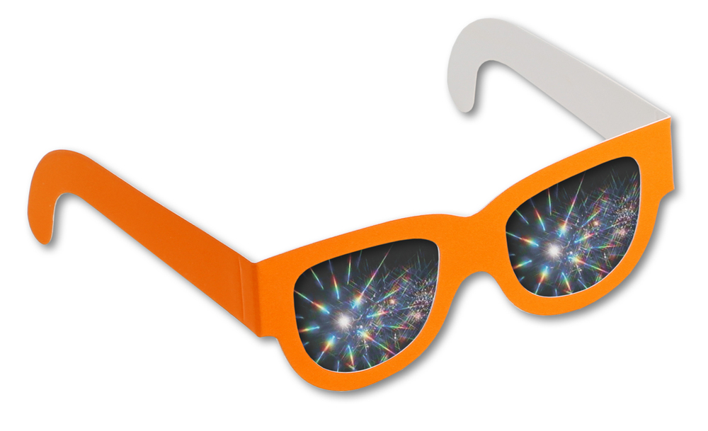 Neon Fireworks Glasses