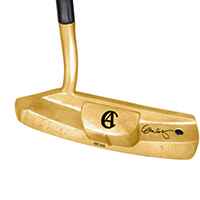 George Lopez Charitybuzz Auction 18k Solid Yellow Gold Golf Putter