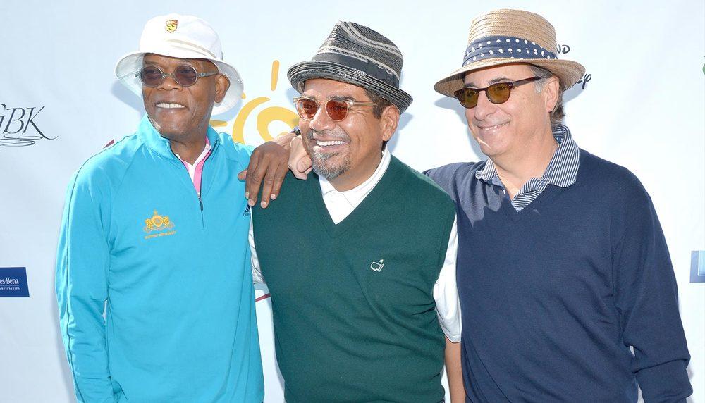 George Lopez Celebrity Golf Classic Samuel L. Jackson Andy Garcia