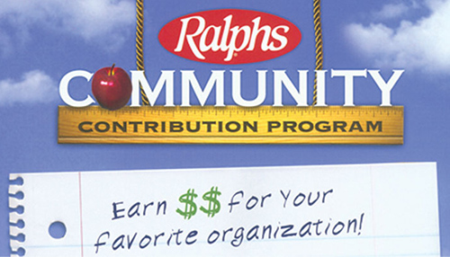 George Lopez Ralphs Community Contribution Program