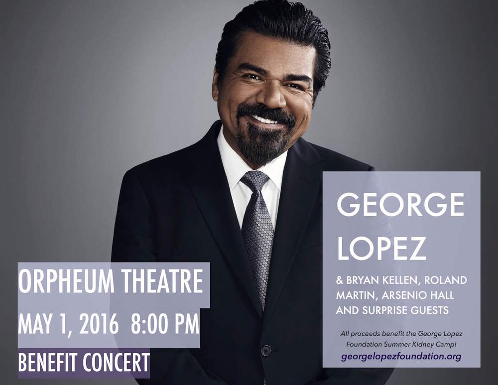 George Lopez Live at the Orpheum Theatre